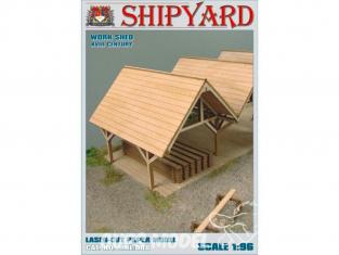 Shipyard MKL008 Hangar de travail 1/96