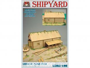 Shipyard MKL009 Entrepôt de chantier naval Suède XVIIe siècle 1/96