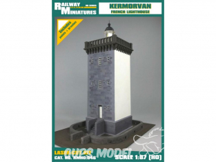 Railway Miniatures RMHO:046 Phare de Kermorvan France HO 1/87