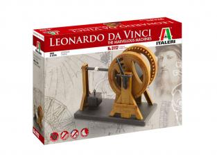 Italeri Maquette serie Leonardo da Vinci 3112 Grue de Levage Léonard de Vinci