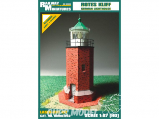 Railway Miniatures RMHO:052 Phare de Rotes Kliff Allemagne HO 1/87