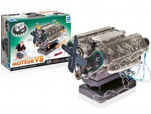 Megableu HM10MB Construis un modèle de moteur entièrement fonctionnel Moteur 8 cylindres