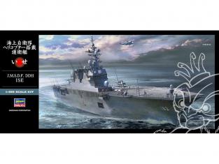 Hasegawa maquette bateau 40099 Un navire d'escorte de la Force d'autodéfense maritime JMSDF DDH ISE 1/450