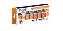 Hataka Hobby peinture laque Orange Line CS100 Set Couleurs de base Scale Modelling 8 x 17ml