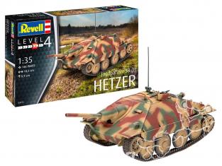 Revell maquette militaire 03272 Jagdpanzer 38 (t) HETZER 1/35
