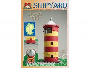 Shipyard MK:014 Phare de Pilsumer 1891 Allemagne HO 1/87