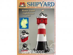 Shipyard MK:015 Phare de Roter Sand Allemagne HO 1/87