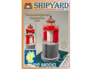 Shipyard MK:031 Phare de Vierendehlgrund 1909 Allemagne HO 1/87