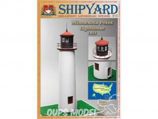 Shipyard MK:027 Phare de Minnesota Point USA HO 1/87