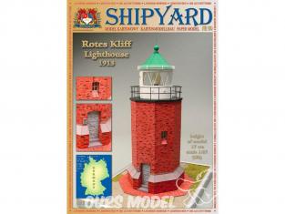 Shipyard MK:029 Phare de Rotes Kliff Allemagne HO 1/87