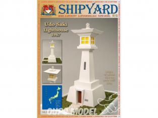 Shipyard MK:032 Phare de Udo Saki Japon HO 1/87