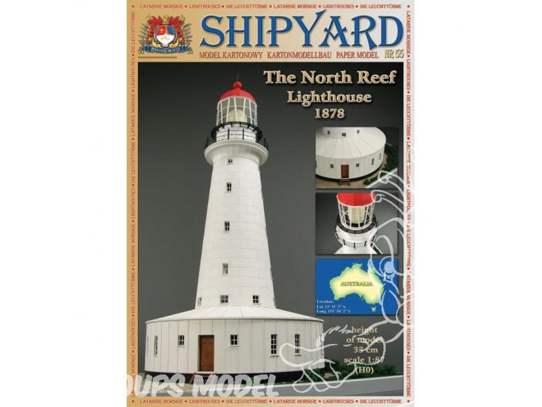 Shipyard MK:024 Phare de North Reef Australie HO 1/87