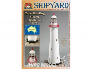 Shipyard MK:021 Phare de Cape Bowling Green Lighthouse Australie HO 1/87