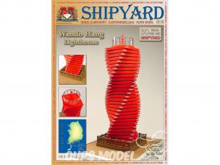 Shipyard MK:033 Phare de wando hang corée du sud HO 1/87