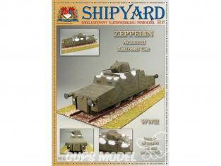 Shipyard MK:016 Draisine blindée allemande ZEPPELIN 1/25