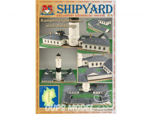 Shipyard MK:034 Phare de Kampen avec constructions 1855 HO 1/87