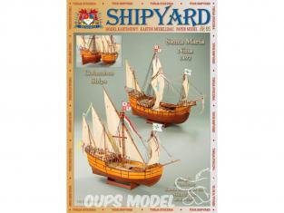 Shipyard MK:007 Bateau Santa Maria et Nina 1492 1/96