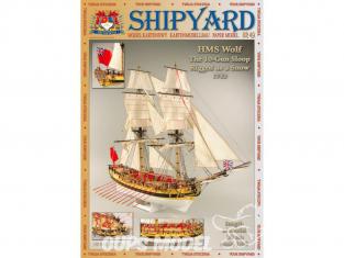 Shipyard MK:018 Bateau HMS Wolf 1752 1/96