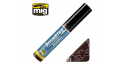 MIG Streakingbrusher 1252 Rouge brun Peinture Streaking avec applicateur 10ml