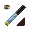 MIG Streakingbrusher 1252 Rouge brun Peinture Streaking avec applicateur 10ml