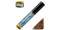 MIG Streakingbrusher 1253 Crasse Peinture Streaking avec applicateur 10ml