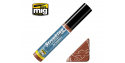 MIG Streakingbrusher 1254 Rouille Peinture Streaking avec applicateur 10ml