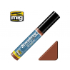 MIG Streakingbrusher 1254 Rouille Peinture Streaking avec applicateur 10ml