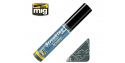 MIG Streakingbrusher 1257 Gris sale warm Peinture Streaking avec applicateur 10ml