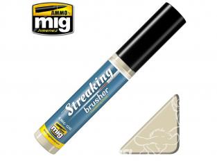 MIG Streakingbrusher 1258 Traces de poussiere Peinture Streaking avec applicateur 10ml