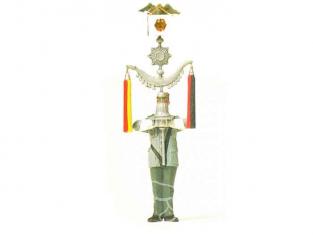 preiser figurine militaire 64352 homme portant croissant 1/35
