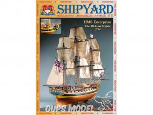 Shipyard MK:003 Bateau HMS Entreprize 1774 1/96