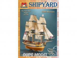 Shipyard MK:006 Bateau HMS Mercury 1779 1/96