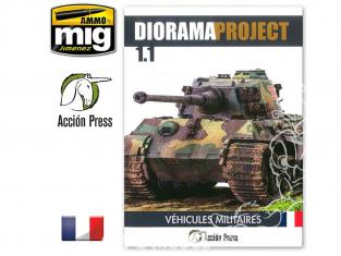 MIG librairie EURO0023 Diorama Project 1.1 - Véhicules militaires en Français