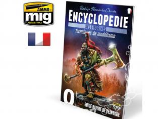 MIG magazine 6240 Encyclopedie des Figurines - Vol.0 Guide rapide de peinture en Français