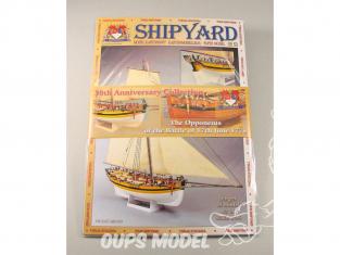 Shipyard MKJ:005 Pack anniversaire 2 bateaux Alert et Le Coureur 1/96