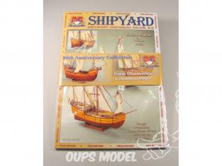 Shipyard MKJ:001 Pack anniversaire 3 bateaux Nina, Santa Maria et Pinta 1/96