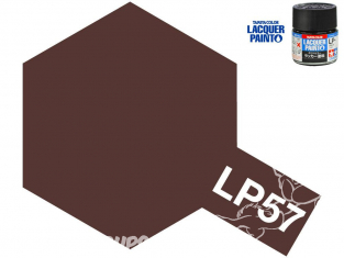 Peinture laque couleur Tamiya LP-57 MARRON ROUGE 2 10ml
