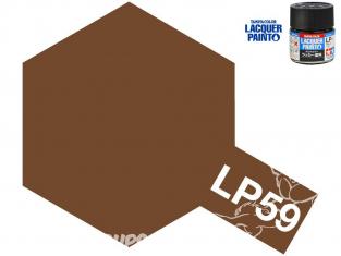 Peinture laque couleur Tamiya LP-59 OTAN MARRON 10ml