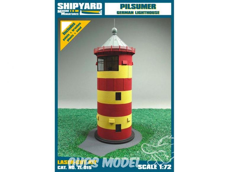 Shipyard ZL:015 Phare de Phare de Pilsum Allemagne 1/72