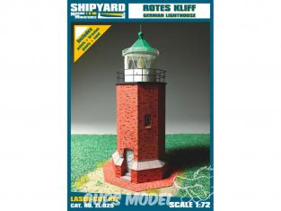 Shipyard ZL:025 Phare de Rotes Kliff Allemagne 1/72