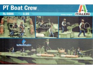 ITALERI maquette militaire 5606 Equipage PT Boat 1/35