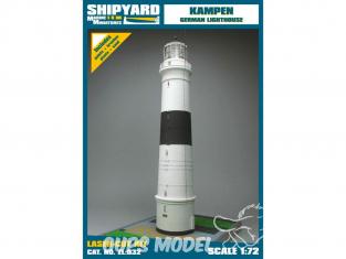 Shipyard ZL:032 Phare de Kampen Allemagne 1/72