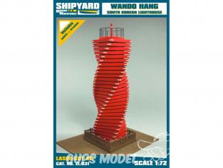 Shipyard ZL:031 Phare de wando hang corée du sud 1/72