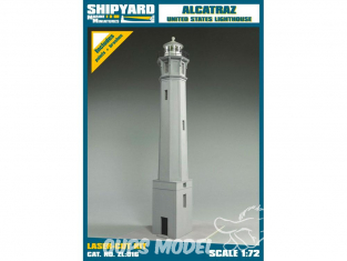 Shipyard ZL:016 Phare de Alcatraz Island USA 1/72