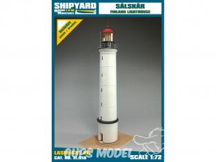 Shipyard ZL:018 Phare de Sälskär Finlande 1/72