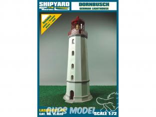 Shipyard ZL:020 Phare de Dornbusch Allemagne 1/72