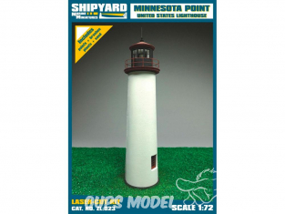Shipyard ZL:023 Phare de Minnesota Point USA 1/72