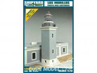 Shipyard ZL:017 Phare de Los Morrillos de Cabo Rojo Porto Rico 1/72