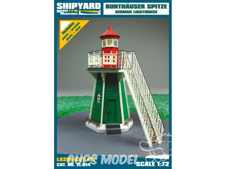 Shipyard ZL:014 Phare de Bunthäuser Spitze Allemagne 1/72