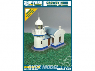 Shipyard ZL:007 Phare de Crowdy Head Australie 1/72